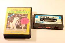 Ordenador ZX spectrum 48K Graham de Gooch Prueba Cricket By Audio génico software 1985