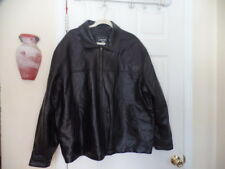 JUNCTION WEST MEN'S LEATHER  QUILTED LINING JACKET SZ XL GUC