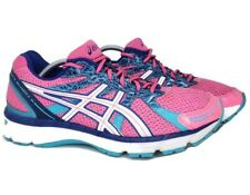 Asics Womens 9.5 Gel Excite 2 Hot Neon Pink Blue Running Walking Sneakers Shoes