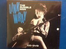 LINK.  WRAY.             THE. RUMBLE.   MAN.             CD. PLUS. DVD.  BOXSET