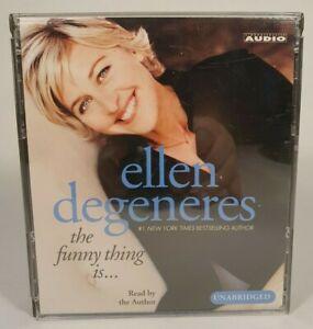 Ellen Degeneres The Funny Thing Is 4 CD Audiobook 2003 Unabridged