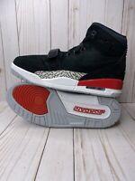 Nike Air Jordan Legacy 312 Mens Size 12 Black Suede Fire Red AV3922-060 New