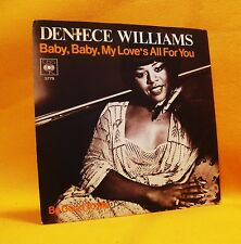 """7"""" Single Vinyl 45 Deniece Williams Baby, My Love's All For You 2TR 1977 (MINT)"""