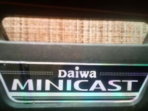 Fishing Pole Daiwa Minicast .Boxed