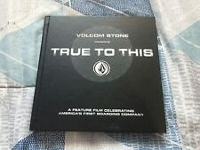"""New listing Volcom Stone Presents : True To This Blue-ray Boxed Set & Book and 7"""" Vinyl Film"""