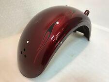 2008 OEM Harley-Davidson FXCWC Softail Rocker Rear Fender Crimson Red Sunglo
