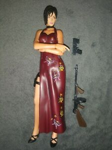 """Resident Evil 4 NECA Ada Wong Figure LOOSE Complete 1/10 - 7"""" inch scale"""
