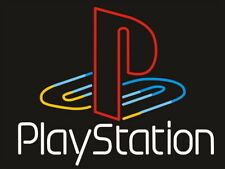 """Playstation Logo 17""""x14"""" Neon Sign Light Lamp Beer Bar With Dimmer"""