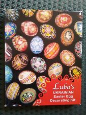 Luba's Ukrainian Easter Egg Decorating Kit in Original Box
