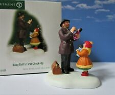Dept 56 New England Village Baby Doll'S First Check-Up Doctor, Christmas Valley