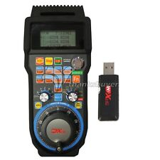 6 Axis XHC Usb Wireless Mach3 Remote MPG Pendent CNC USB Handwheel WHB04B-6