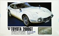 Arii Owners Club 1/24 01 1967 Toyota 2000GT 1/24 scale kit (Microace)