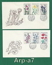 (Fc1090) Czechoslovakia Fdc - First Day Cover 1964 Flowers