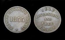 1/2 Penny 1855 Prince Edward Island, Canada. Bronze