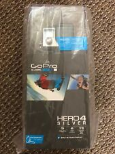 NIB GoPro Hero 4 Silver Touch Screen Camcorder Bundle SD Card Dual Charter