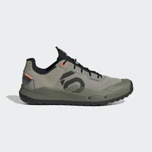 Adidas Five Ten Trailcross LT Mountain Bike Shoes-Feather Grey/Core Black/Coral