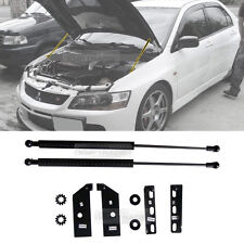 Carbon Bonnet Hood Gas Strut Lift Damper Kit for MISUBISHI 2003-06 Global Lancer