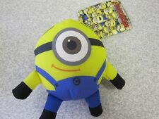 MINION SOFT TOY BAG HANGER SOFT TOY KEY RING KEYCHAIN TAGGED GREAT 4 PARTY BAGS