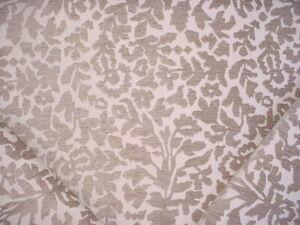 4Y Robert Allen Duralee 255883 Frangia BK Linen Floral Drapery Upholstery Fabric
