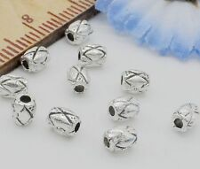 Free Ship 120Pcs Tibetan Silver Spacer Beads For Jewelry Making 4x3mm
