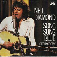 7inch NEIL DIAMONDsong sung blueHOLLAND EX ( S3186)