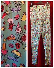 UNRELEASED Her Universe JUNIOR 2X Spandex Pajama Pants: DEADPOOL Kaboom Pattern
