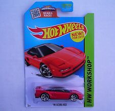 Hot Wheels '90 ACURA NSX 218/250 HW Workshop RED CFH16 New SEALED Blister Pack!
