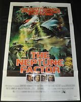 Neptune Factor Original U.S. One 1sh Sheet Movie Poster - (1973) ITB WH