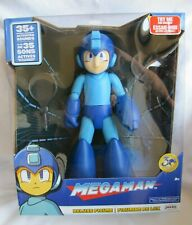 Classic Mega Man Deluxe Action Figure w/ 35+ Sounds & Lights - 12
