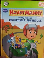 TAG READER STORYBOOK - LEAP FROG - HANDY MANNY MOTORCYCLE ADVENTURE - NEW