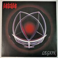 "Deicide - Legion 12"" Red Vinyl LP Metal Blade Re-release Morbid Angel Slayer"