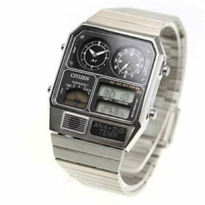 CITIZEN ANA-DIGI TEMP reprint model watch silver JG2101-78E