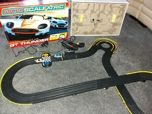 Micro Scalextric GT Thunder - Aston Martin DBR9 - Boxed and Complete
