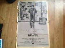 Taxi Driver Film Poster Genuine 1976  Original