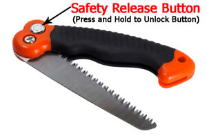 Compact Folding Saw Camping Survival and Emergency Kits and Garden Pruning
