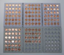 1959 to 2018 Lincoln Memorial and Shield Cent Set Red BU