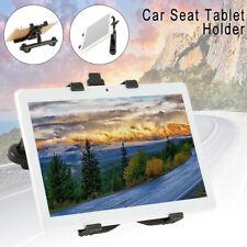 "360°Car Seat Back Headrest Mount Holder 7-11"" Tablet For IPad Mini GPS Bracket"