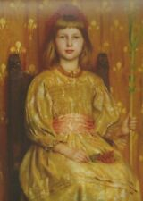 Postcard! Thomas Cooper Gotch - My Crown and Sceptre, 1891