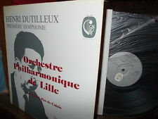 DUTILLEUX: Symphony n°1 > Lille PO Casadesus / Calliope stereo France LP NM-