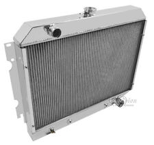 2 Row Aluminum Performance Radiator For 1968 - 74 Chrysler/Dodge Cars