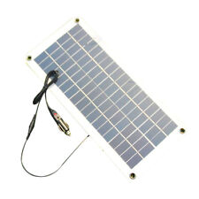 Semi-flexible 18V/5V 10.5W Portable Solar Panel Charger For 12V Car Boat B4M7