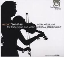 2-CD MOZART - SONATAS FOR FORTEPIANO AND VIOLIN - MULLEJANS / BEZUIDENHOUT