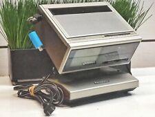 Collectible - Panasonic BiSider Am/Fm/4� Tv/Clock Radio Tr-4060P (D4)
