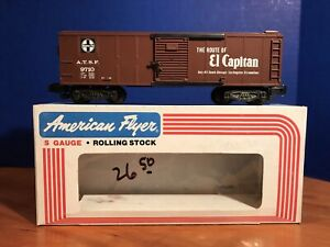 American Flyer #9710 Sante Fe Boxcar with OB