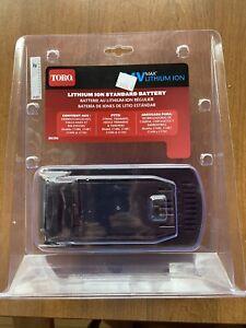 Toro Battery Standard 24 Volt Max Lithium Ion Lights Indicator New NIB 88506