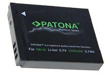batteria compatibile canon NB-6L PREMIUM CANON IXY DIGITAL E POWERSHOT IXU S