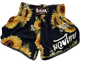 Sunflower Muay Thai Shorts MMA boxing Made in Thailand Size Small
