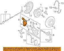 VW VOLKSWAGEN OEM 06-10 Passat Parking Brake-Motor 3C0998281B