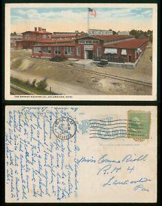 Mayfairstamps Ohio 1946 Columbiana Banner Machine Company Picture Postcard wwp11
