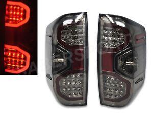 Set of Eagle Eyes V2 Smoke Lens LED Taillights for 2014-2020 Toyota Tundra